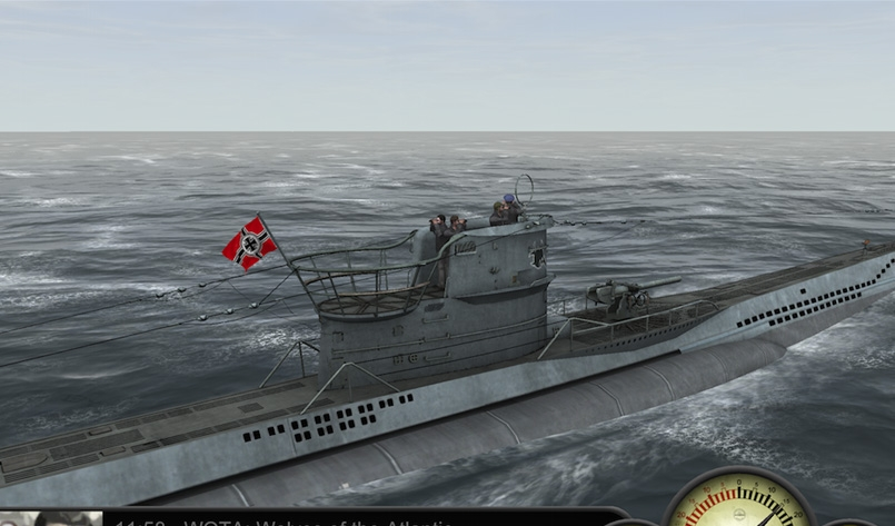 Older shader Type VII WOTA Wolves of the Atlantic iOS sub sim U-Boat simulation game