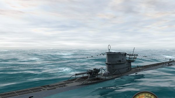 Tpe VII light rough weather WOTA Wolves of the Atlantic iOS subsim U-Boat simulation